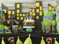 Everyday Party Magazine TMNT Birthday Party
