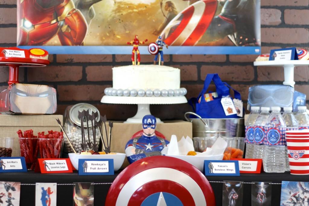 Captain America Civil War Party
