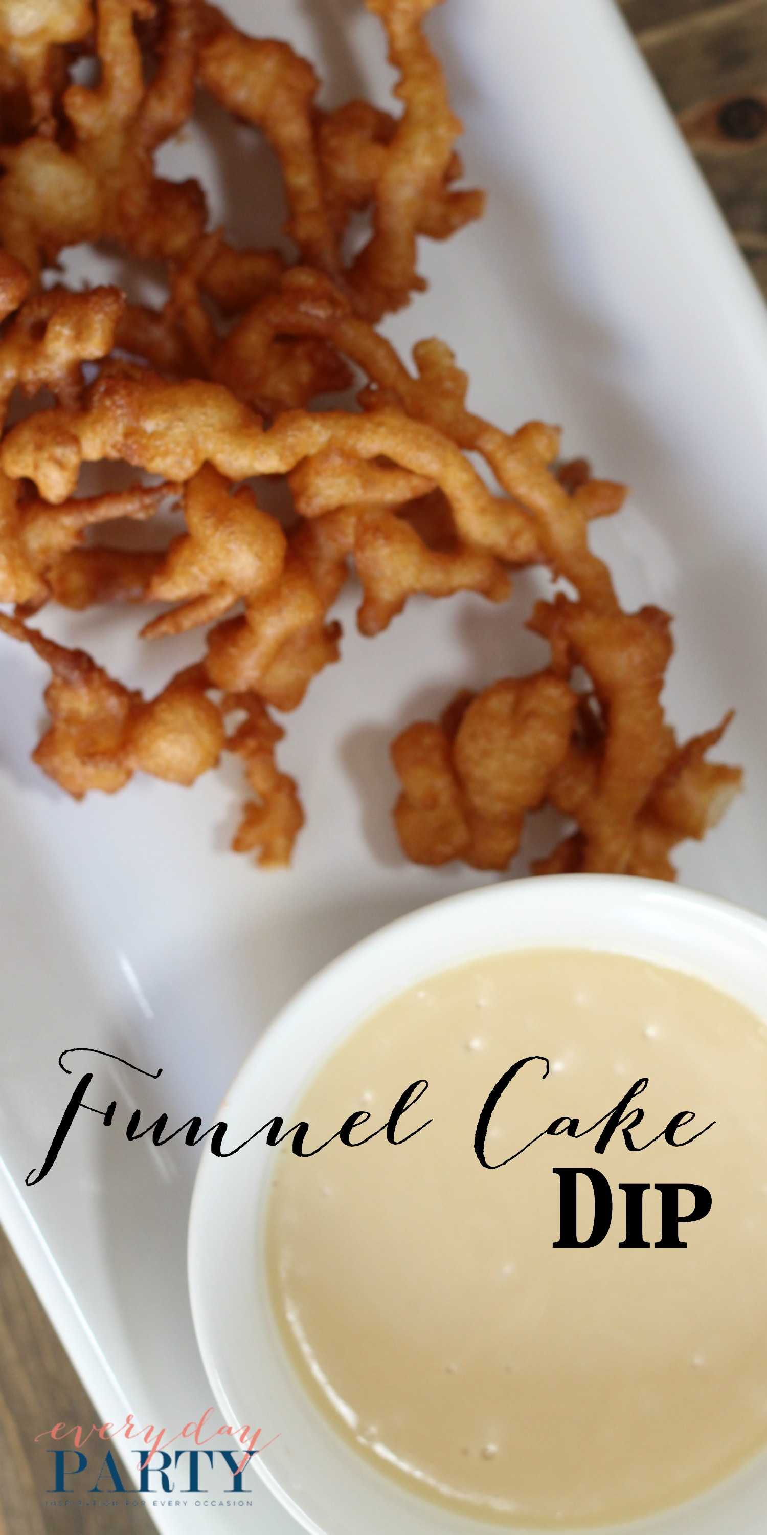 Everyday Party Magazine Funnel Cake Dip