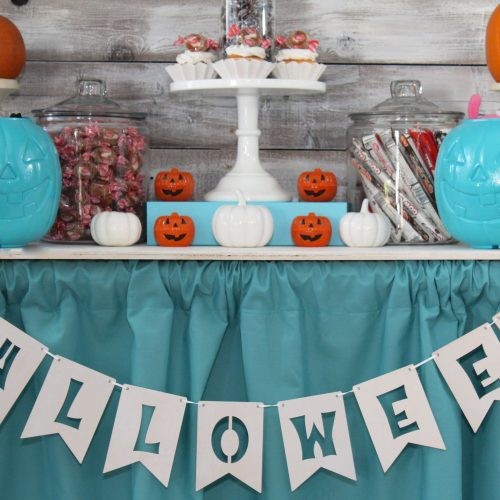 Everyday Party Magazine Teal Pumpkin Project Class Party