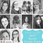 Everyday Party Magazine Xyron Design Team