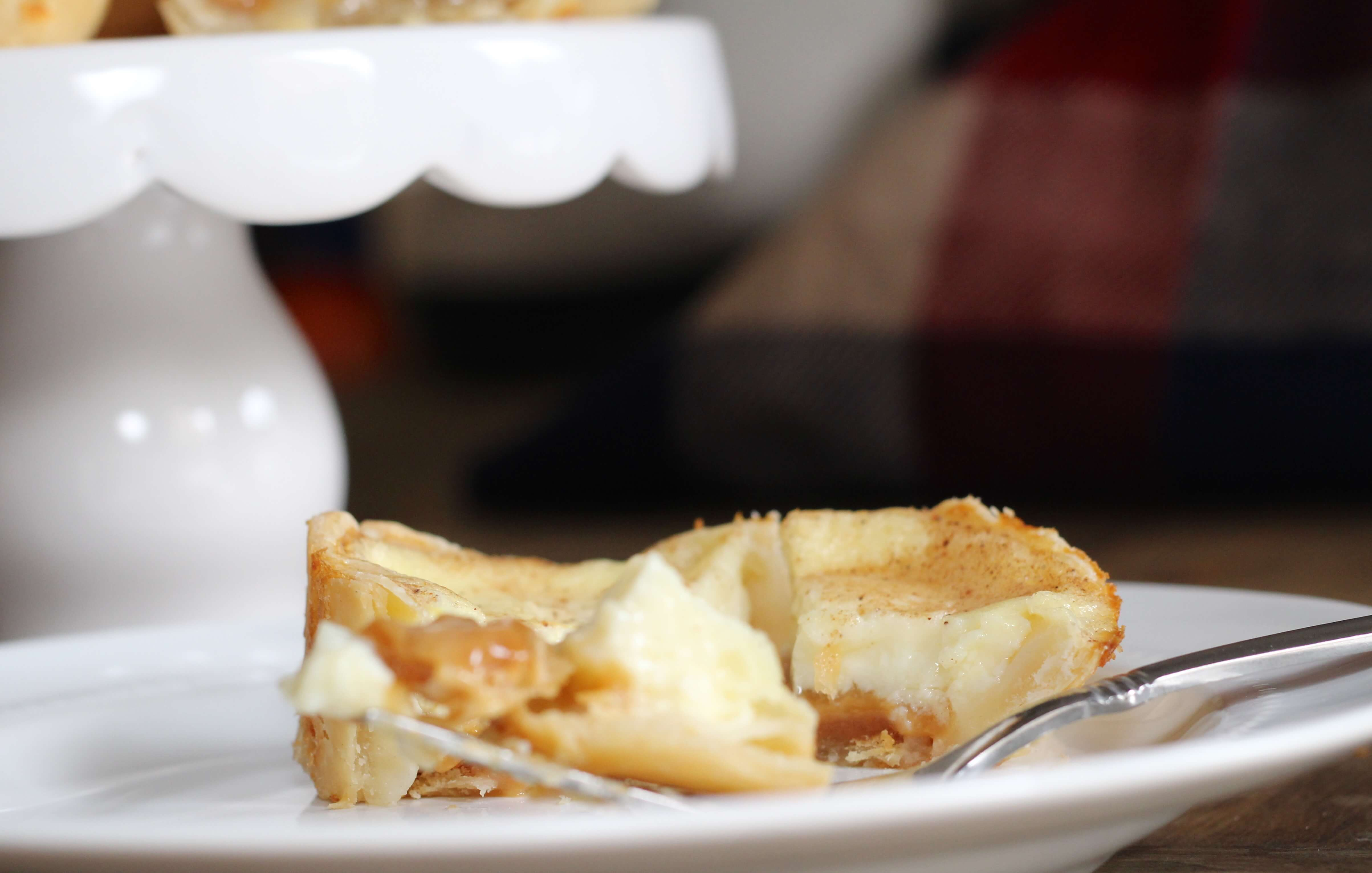 Everyday Party Magazine Caramel Cream Custard Pie Recipe