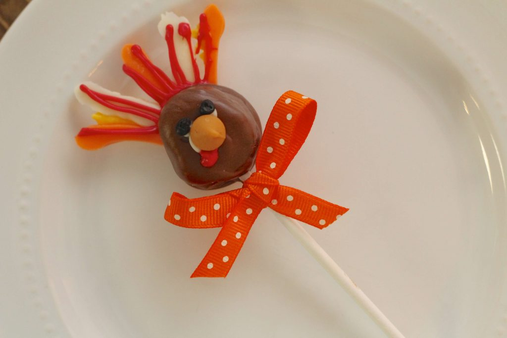 Caramel Cream Turkey Pops
