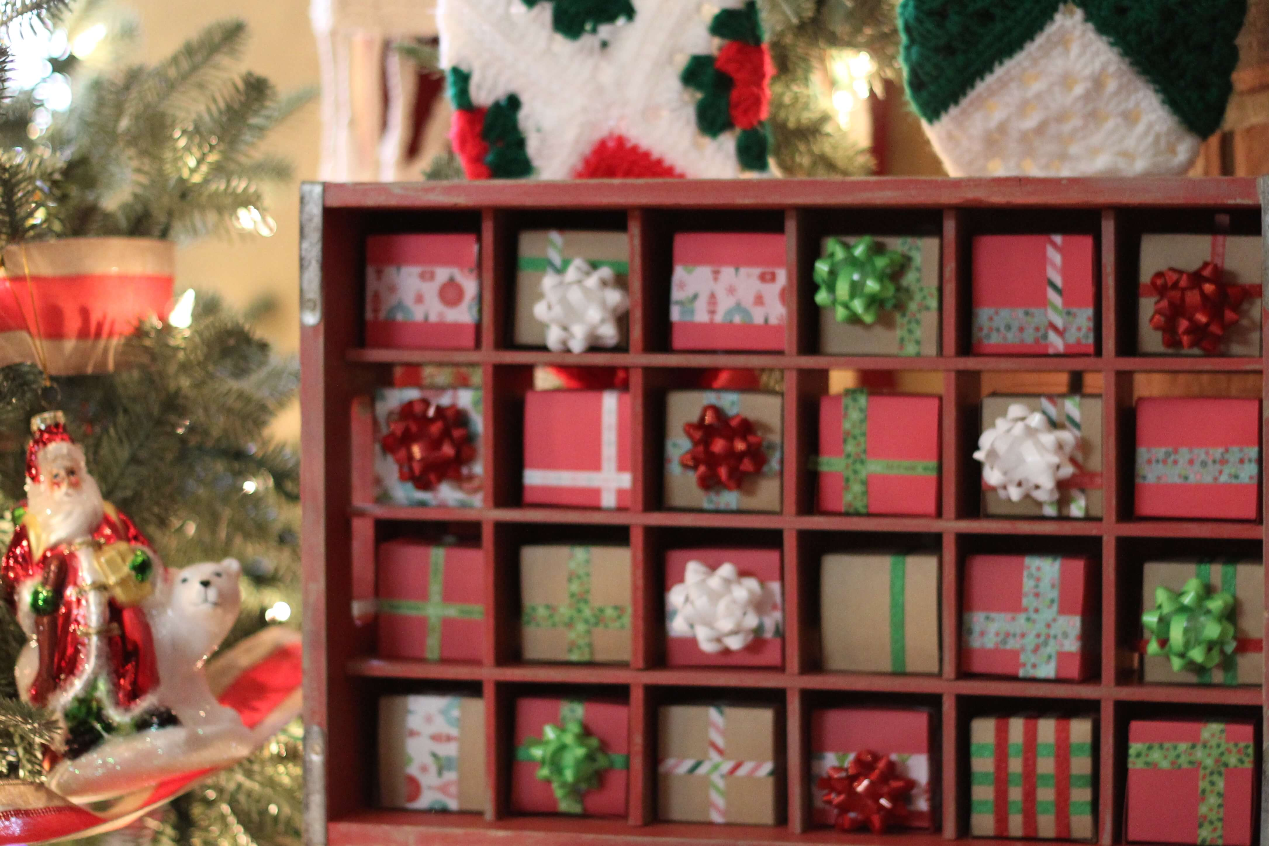 Advent Calendar House Diy : Advent calendar diy everyday party magazine