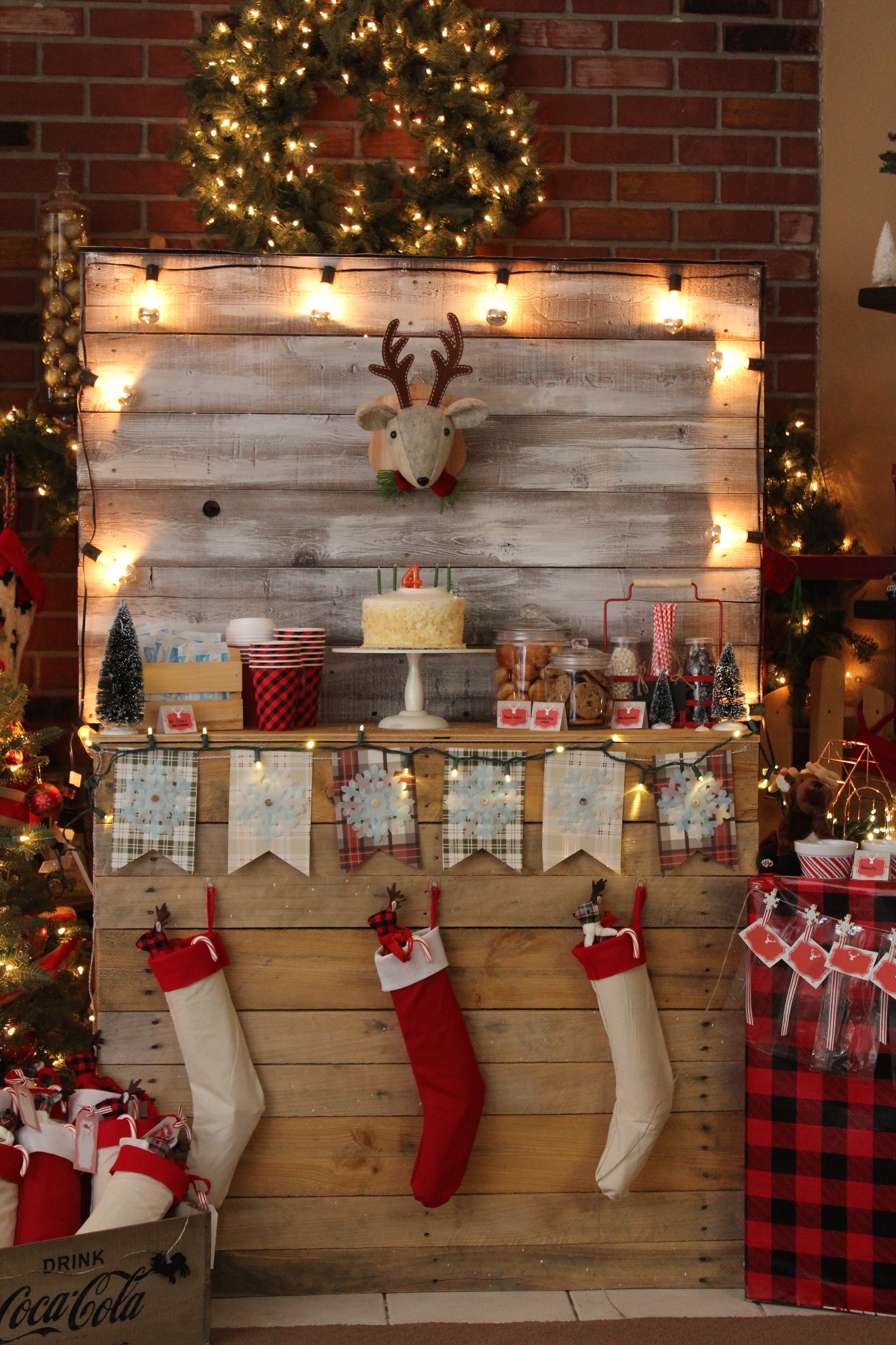 Rustic Christmas Party Anders Ruff Custom Designs Llc
