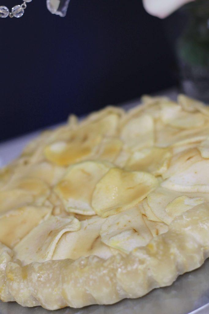 Cheddar Apple Tart Recipe