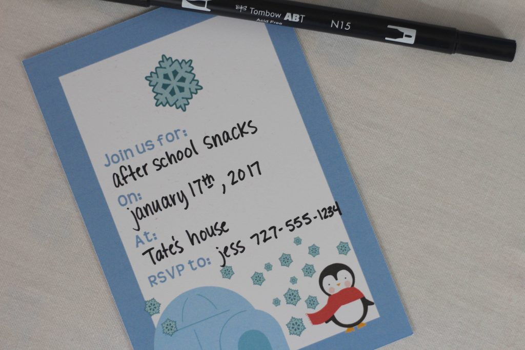Penguin Party Printables