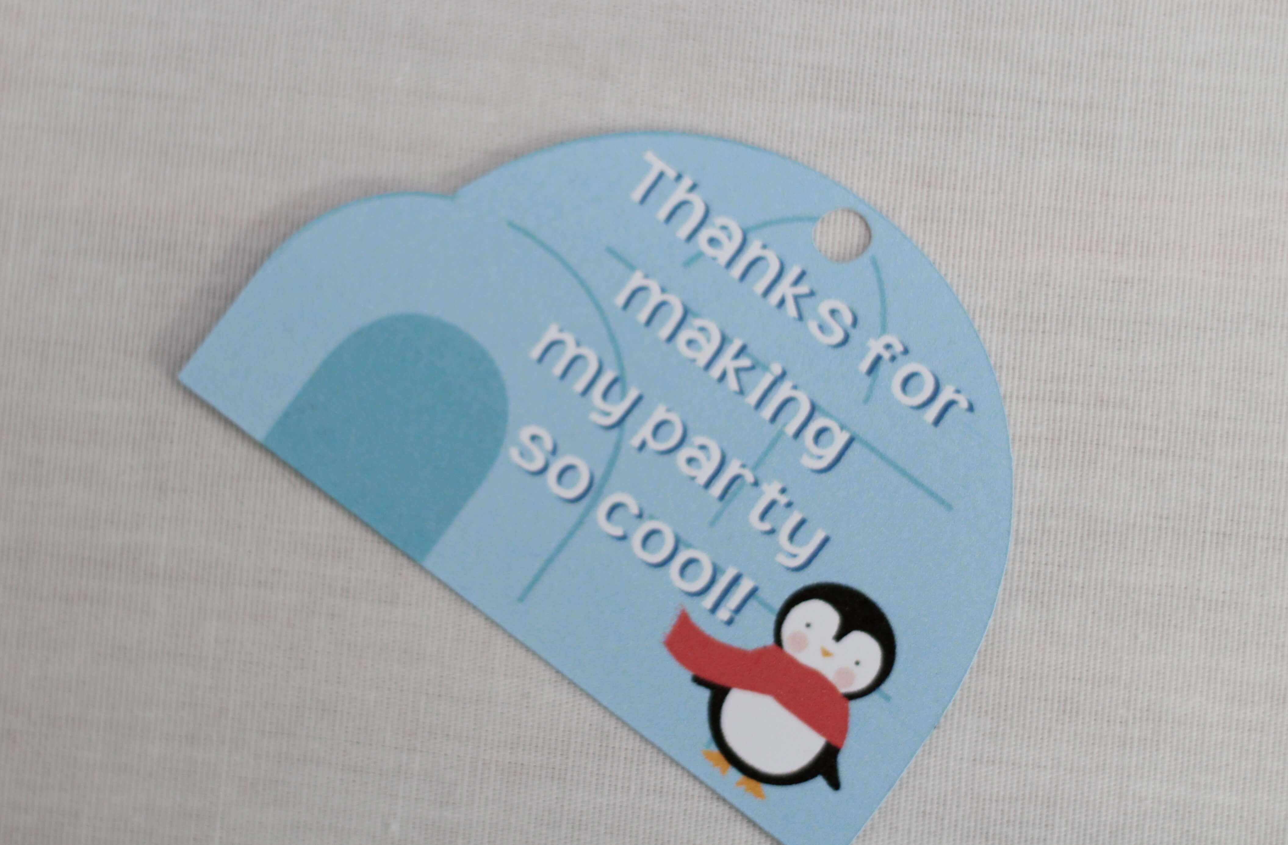 penguin party printables everyday party magazine