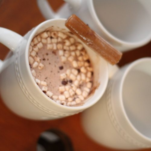 Everyday Party Magazine Caramel Cream Hot Cocoa