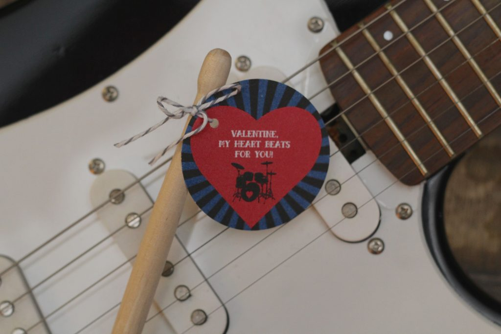 Free Printable Valentine's Day Tags My Heart Beats for You