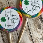 Everyday Party Magazine Lucky to Have Friends Like You Cricut Project