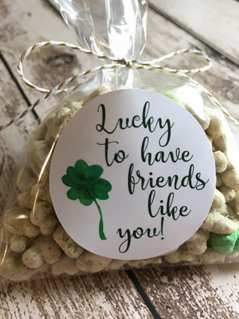 Lucky to Have Friends Like You Cricut Project