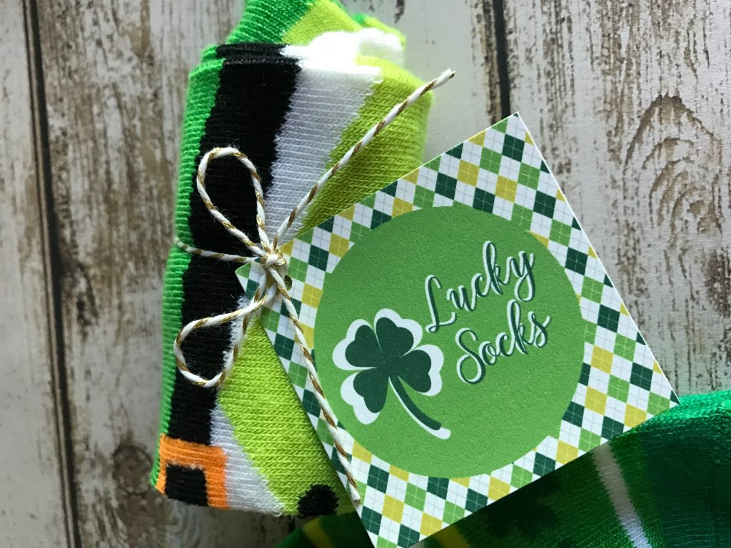 Lucky Socks Printable