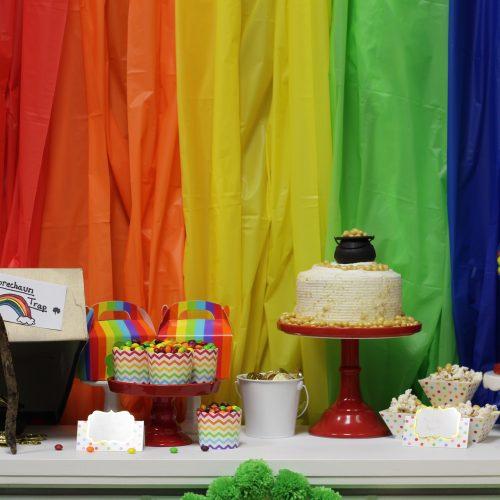 Everyday Party Magazine Rainbow Leprechaun Hunt