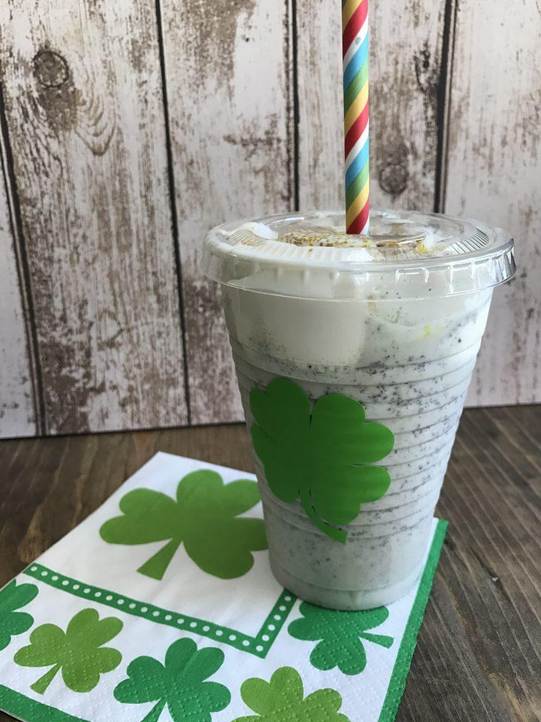 St. Patrick's Day Shake