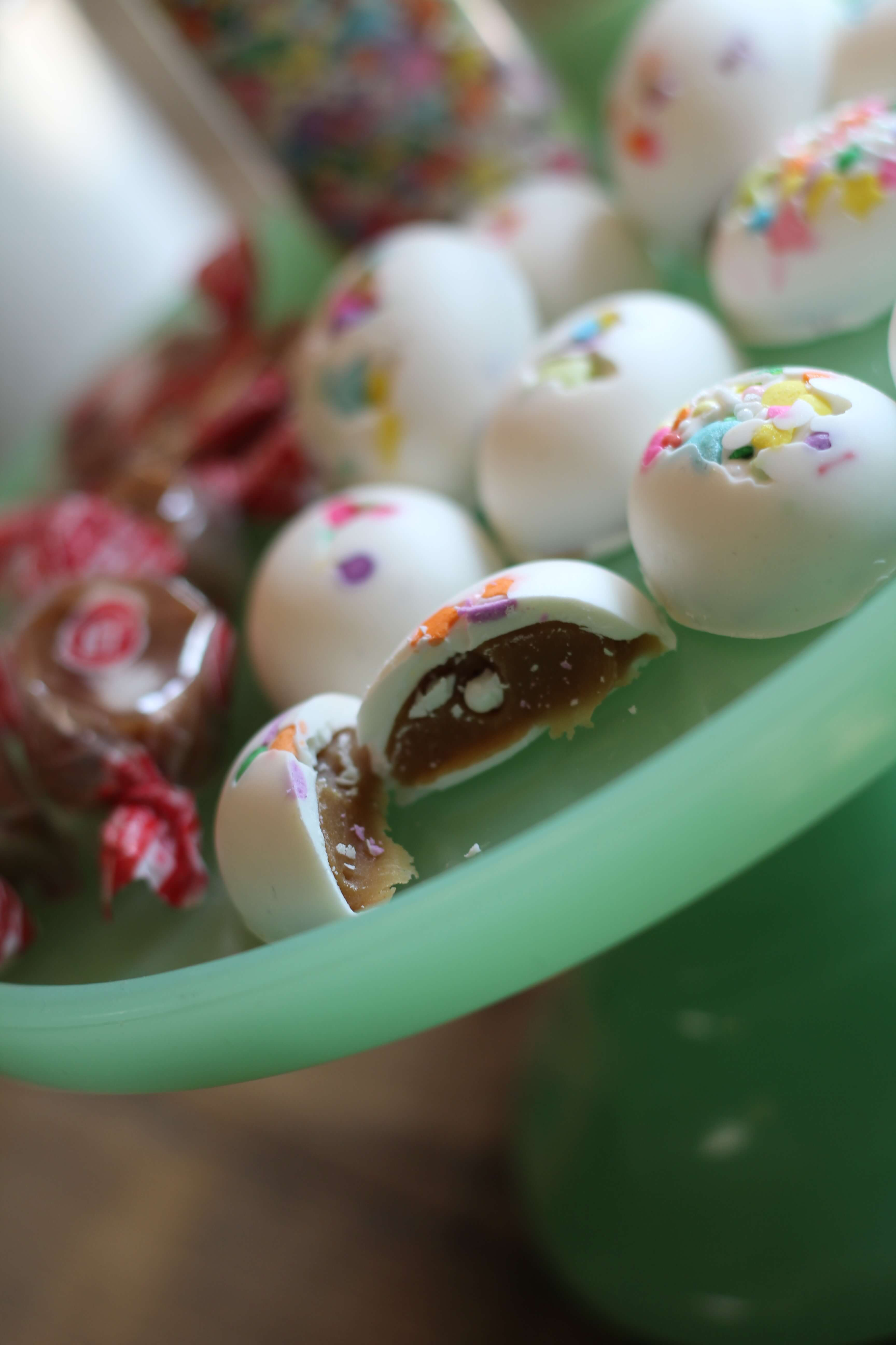 Everyday Party Magazine Caramel Cream Chocolate Eggs