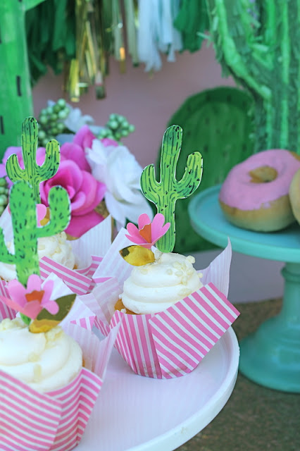 Everyday Party Magazine Cocktails and Cactus Party by LAURA's little PARTY
