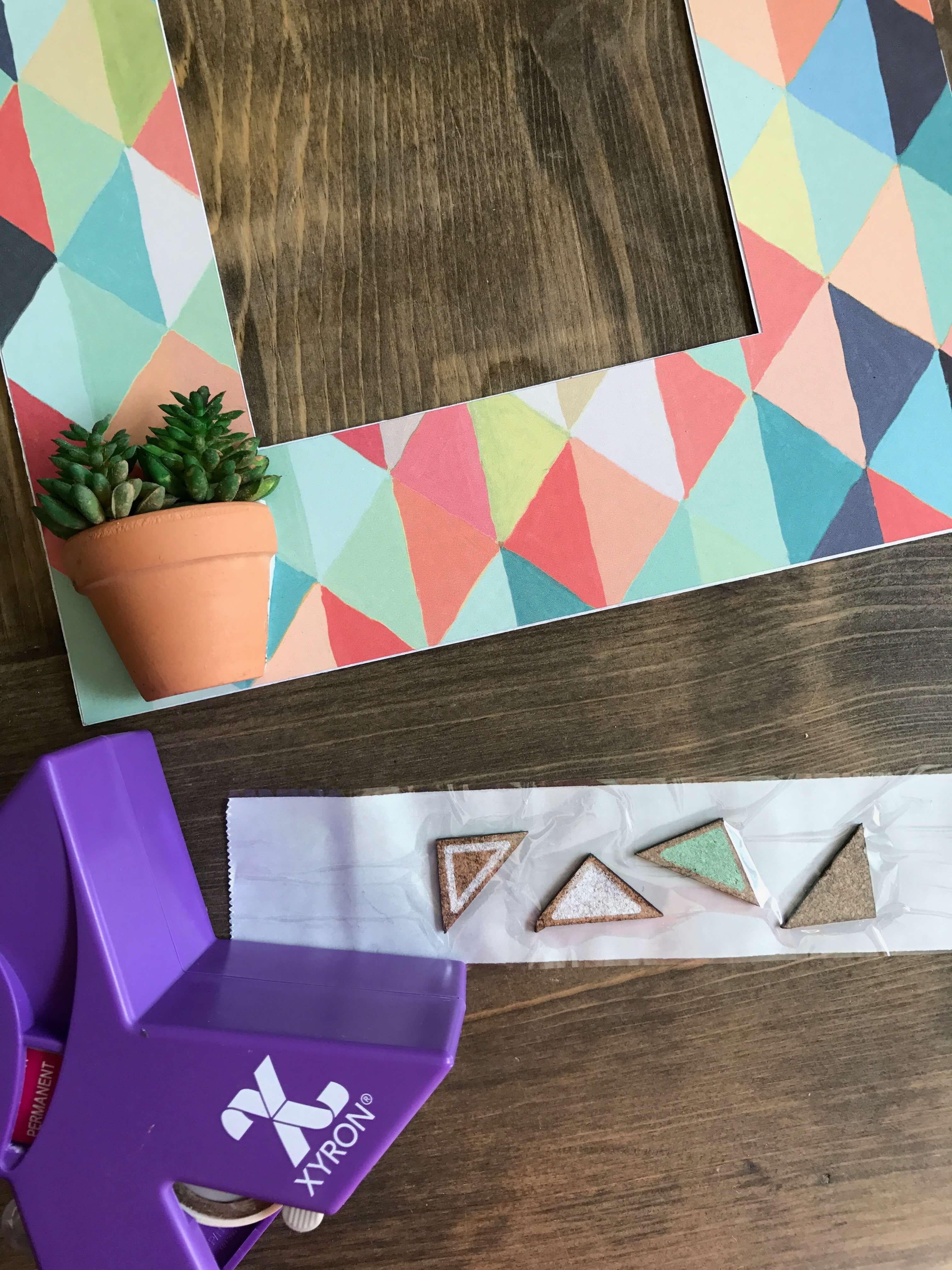 Everyday Party Magazine Shadow Box DIY