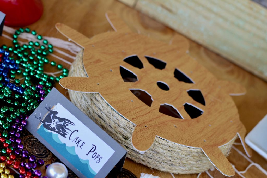 Simple Pirate Party DIY's with Cricut