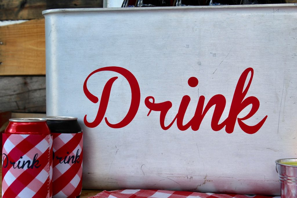 Simple BBQ Party DIY's with Cricut