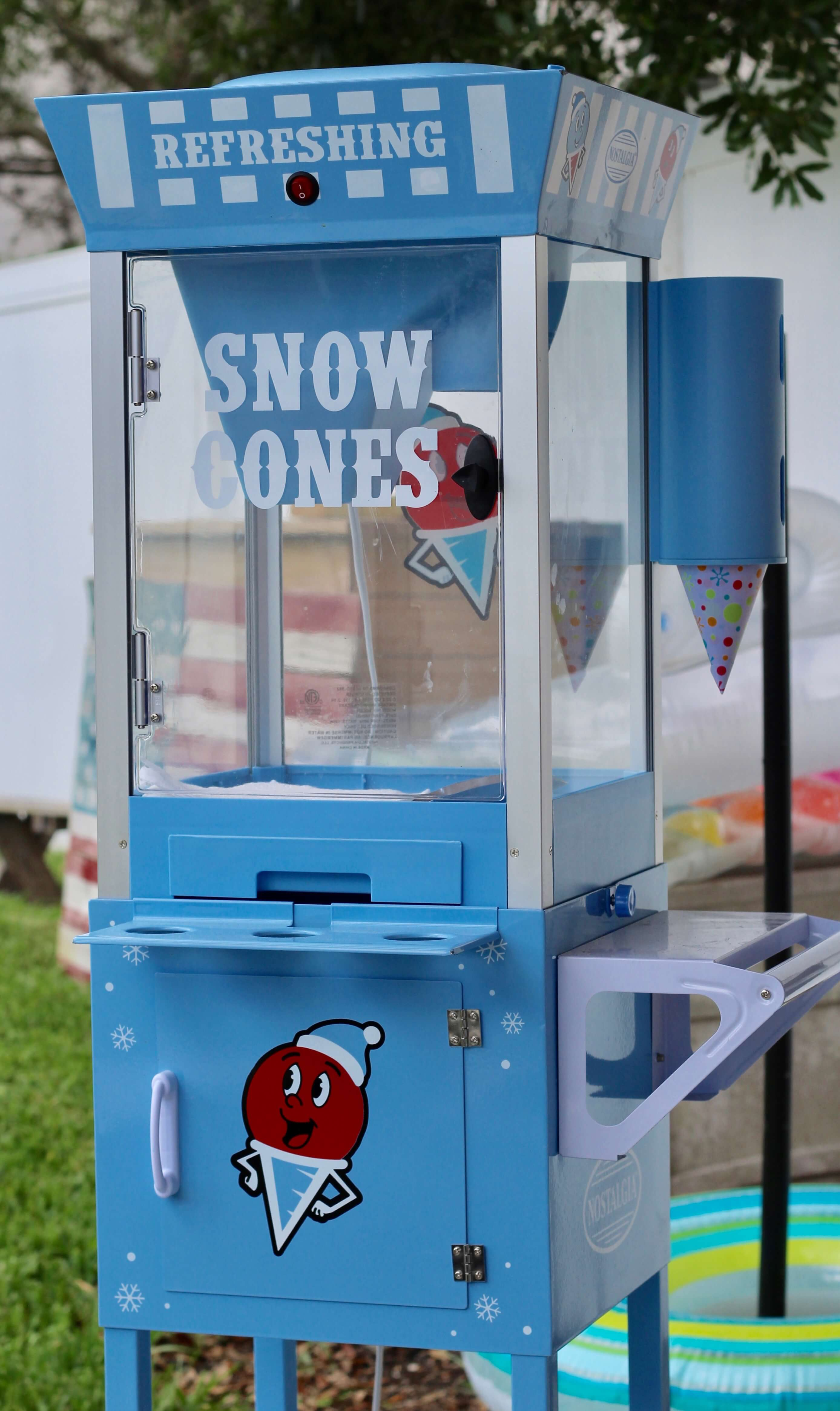 Back Yard BBQ, Red Gingham, Vintage, S'mores, DIY, Backyard Party, Snow Cones