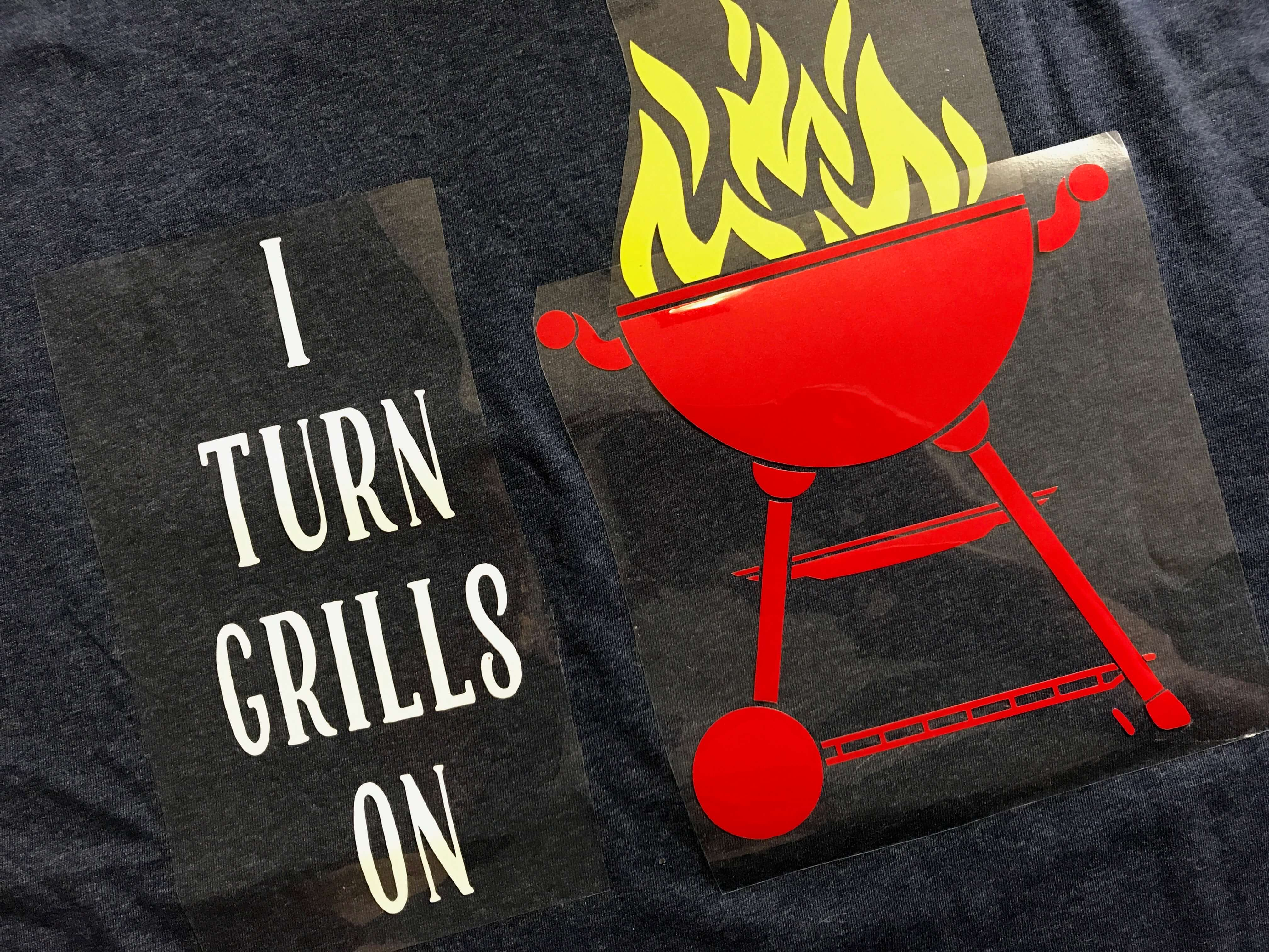 DIY, Father's Day, Funny Shirt, Cricut Made, Grills