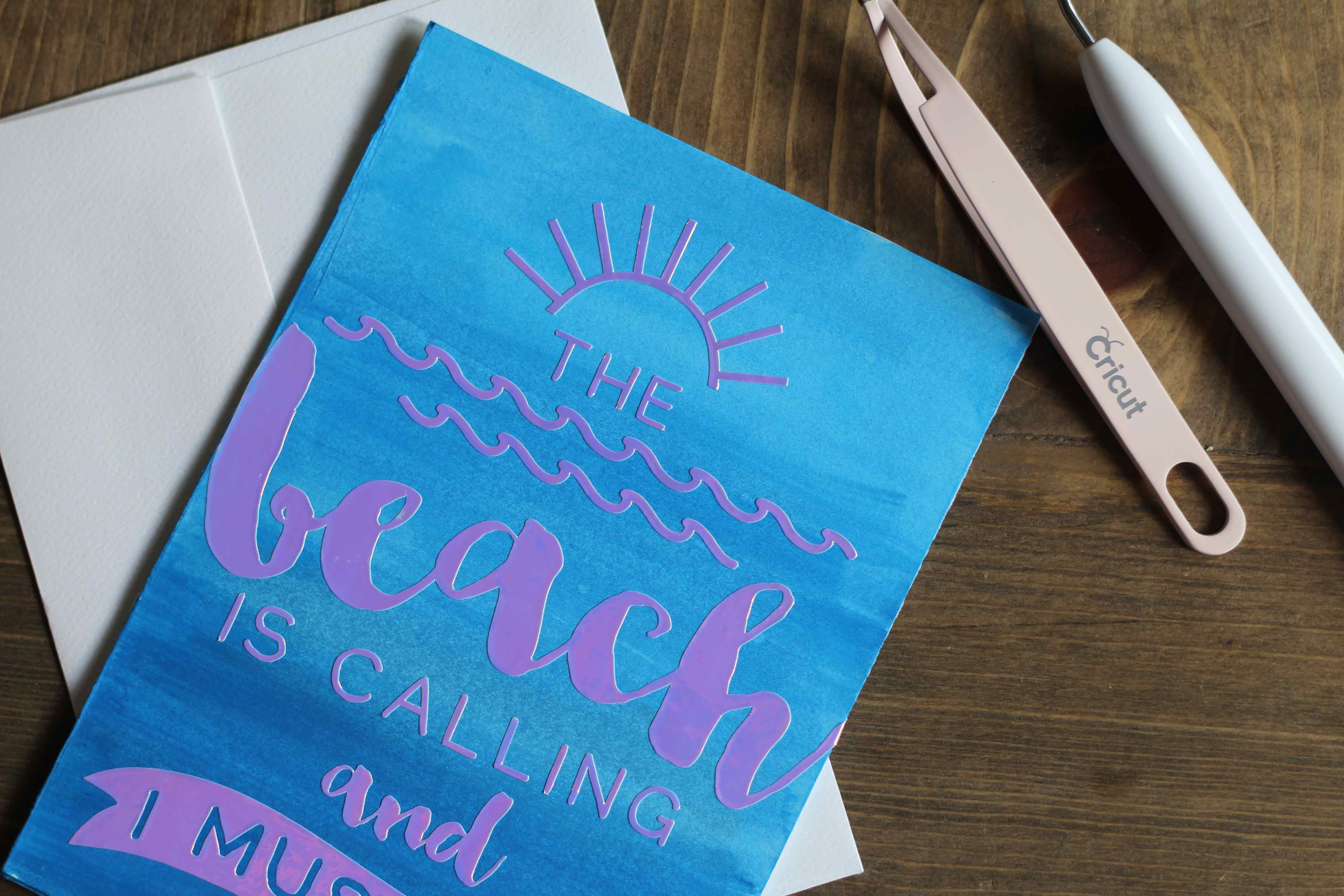 Everyday Party Magazine Watercolor Party Invitations with Cricut