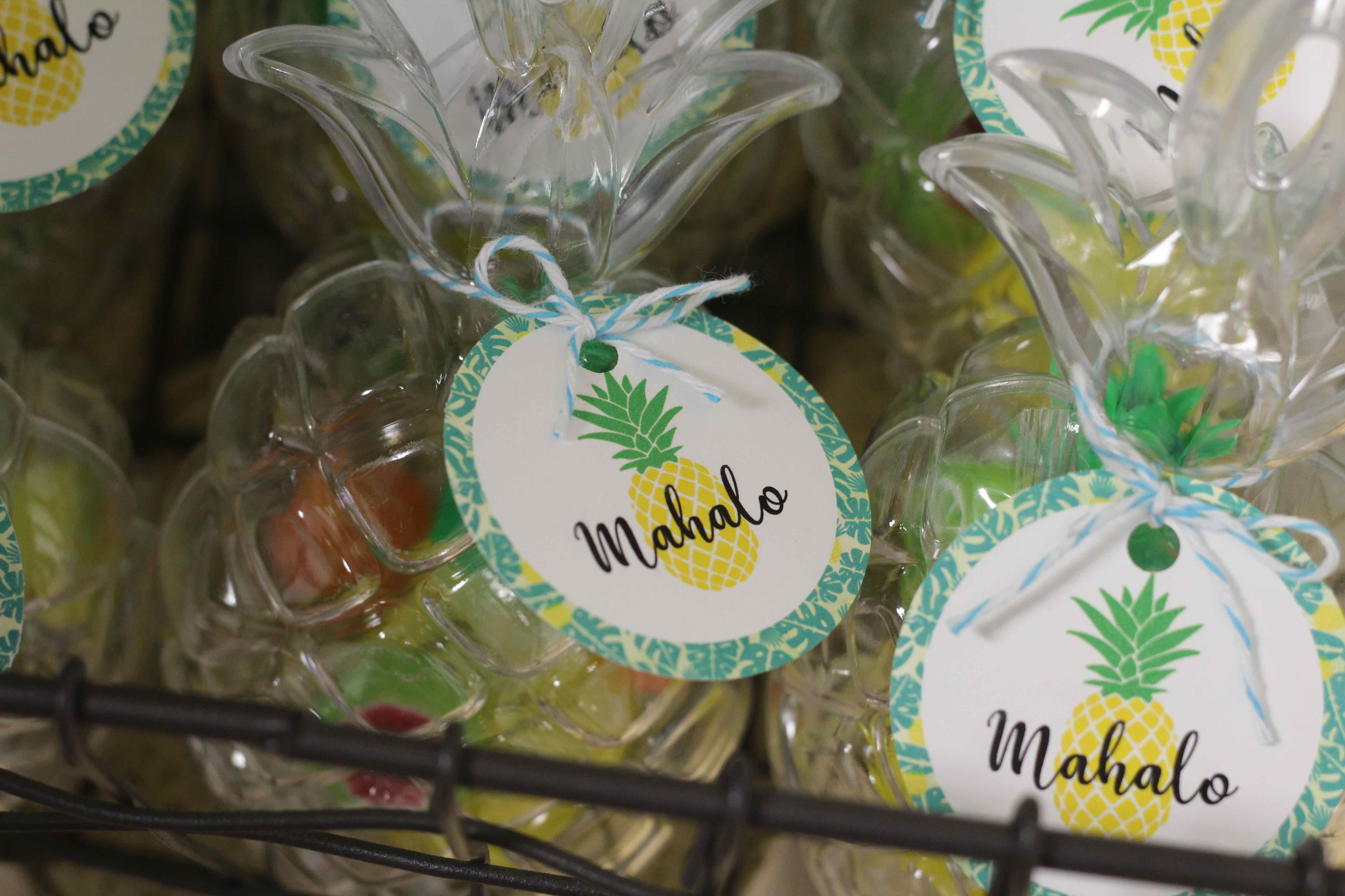 mahalo party favor luau pineapple free printable summer party - Oriental Trading Free Printables