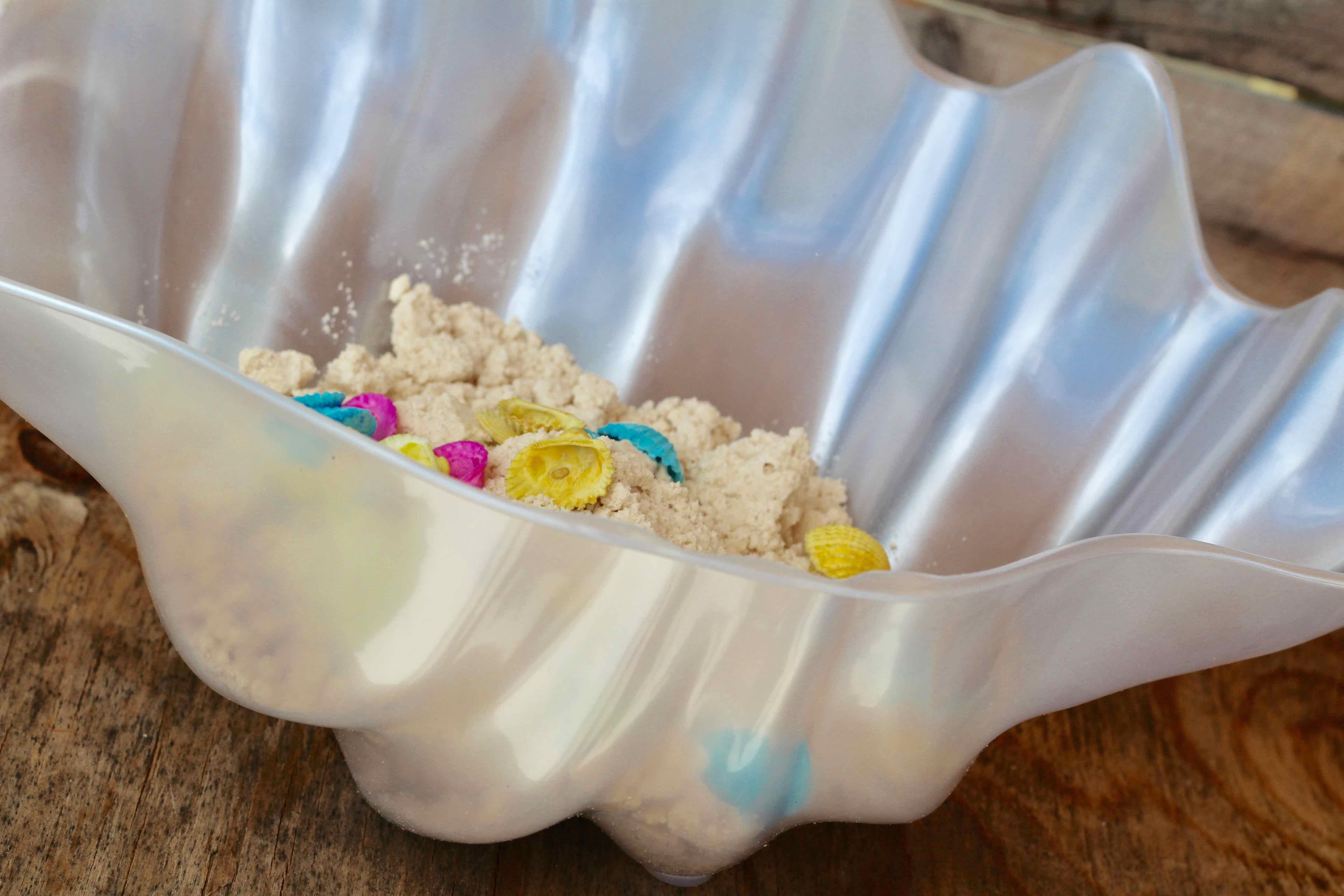 Mermaid, Slime, Sensory, Moon Sand, Kinetic Sand, DIY Mermaid Sand, Everyday Party Magazine