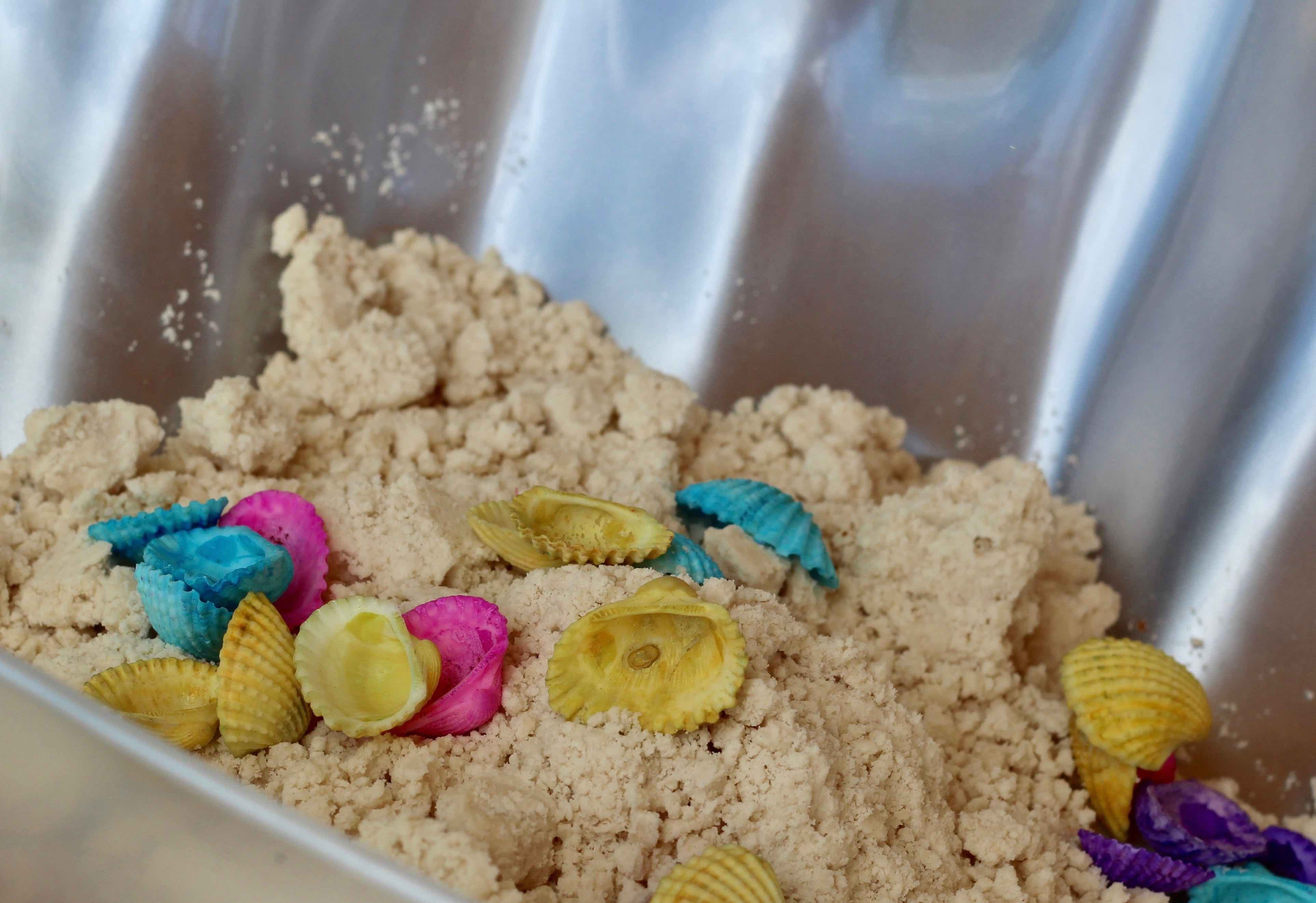 how to make moon sand without baby oil