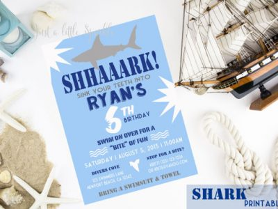 Shark Week, Kids Party, Kids Parties, Beach Party, Pool Party