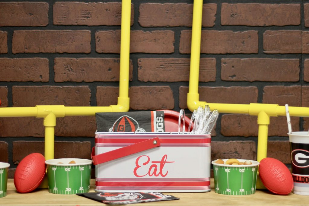 Football Party Decor DIY