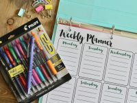Everyday Party Magazine Printable Weekly Planner, Free Printables, Calendar, Day Planner