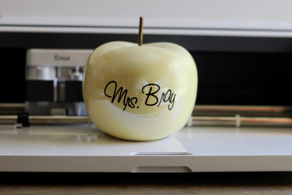 Simple Teacher's Apple Gift