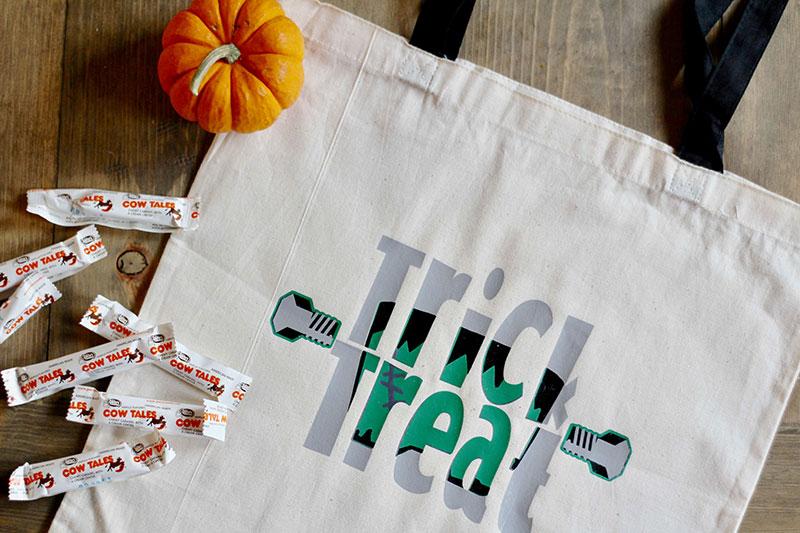 It's Alive DIY Knockout Halloween Bag