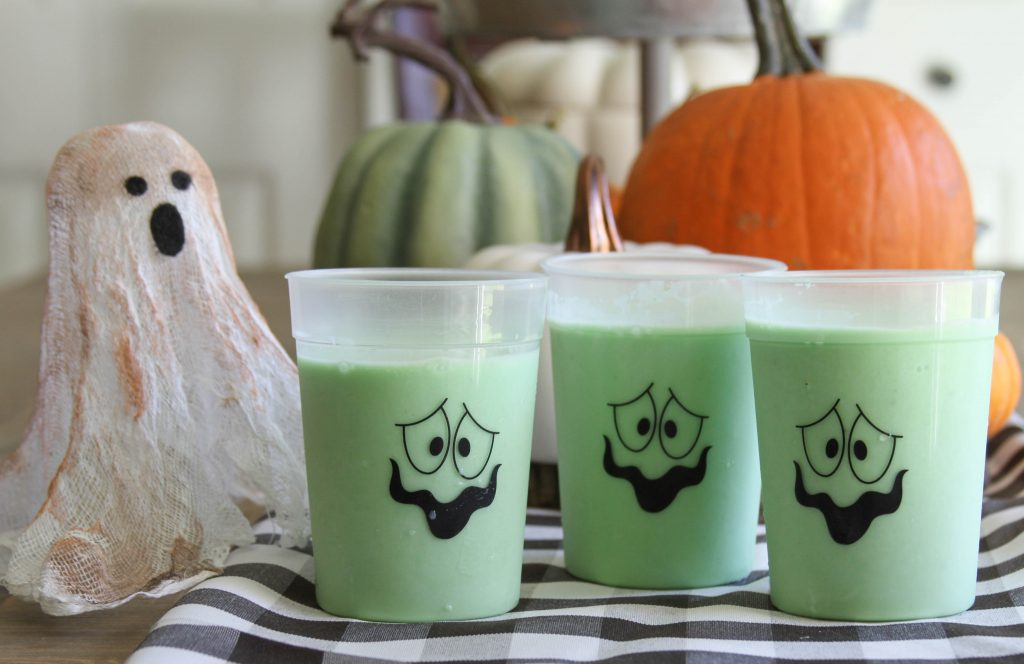Glowing Green Slime Smoothie