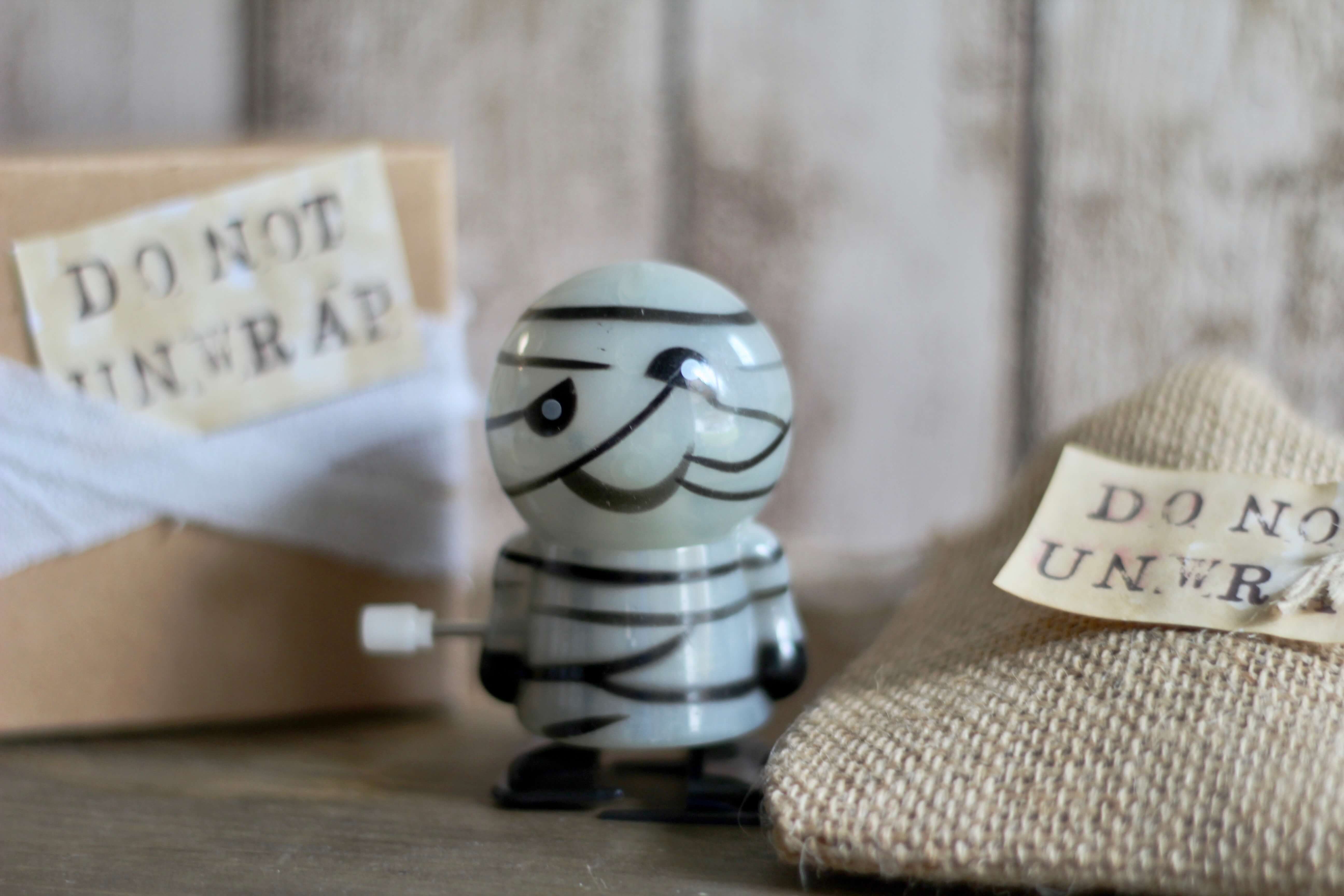 Everyday Party Magazine Mummy Halloween Favor with Oriental Trading Company
