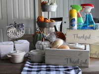 Everyday Party Magazine Thankful Thanksgiving Leftover Box DIY