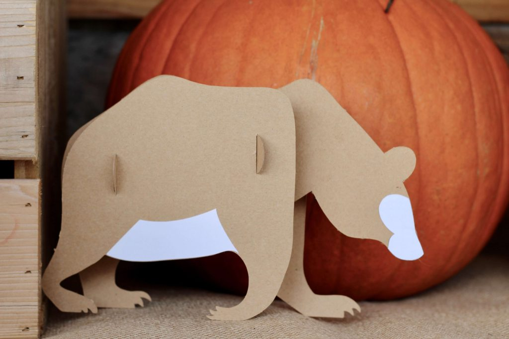 Woodland Animals with Cricut Maker