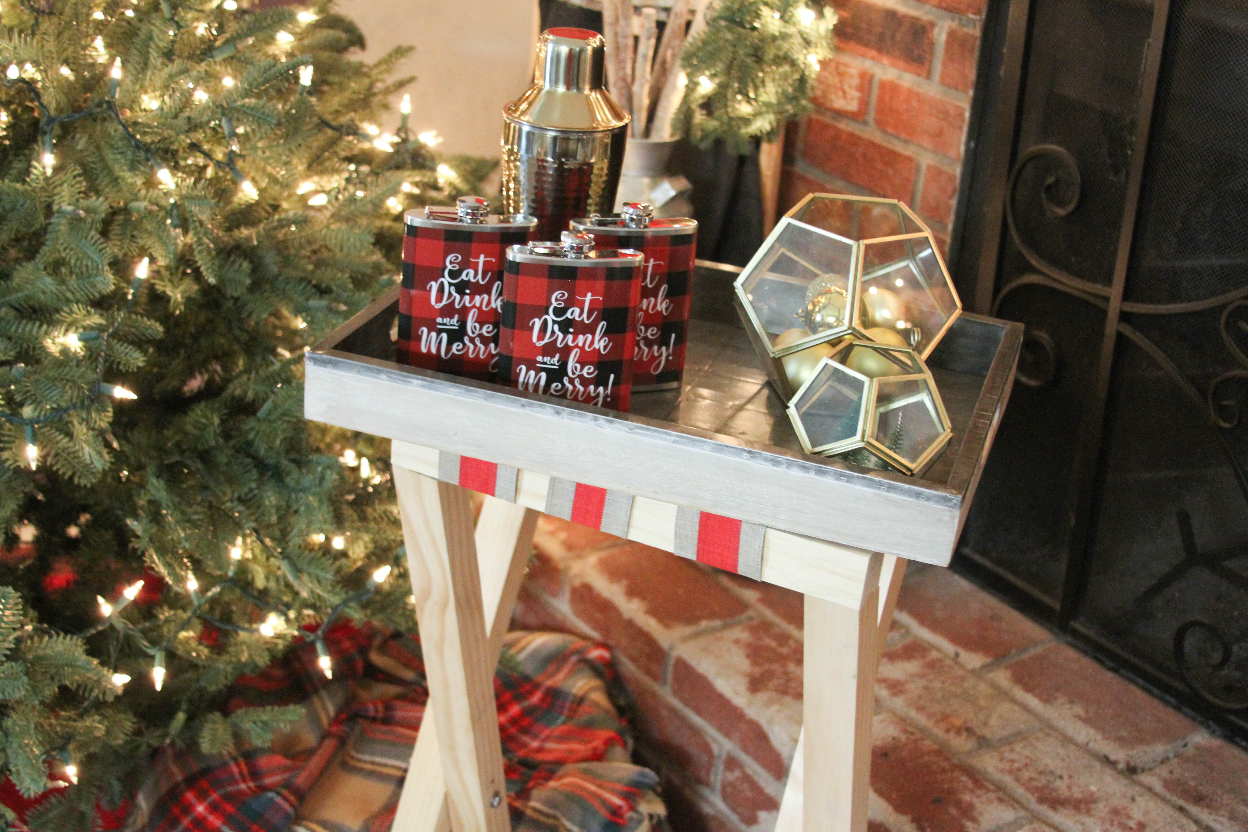 Diy Bar Cart Table Everyday Party Magazine