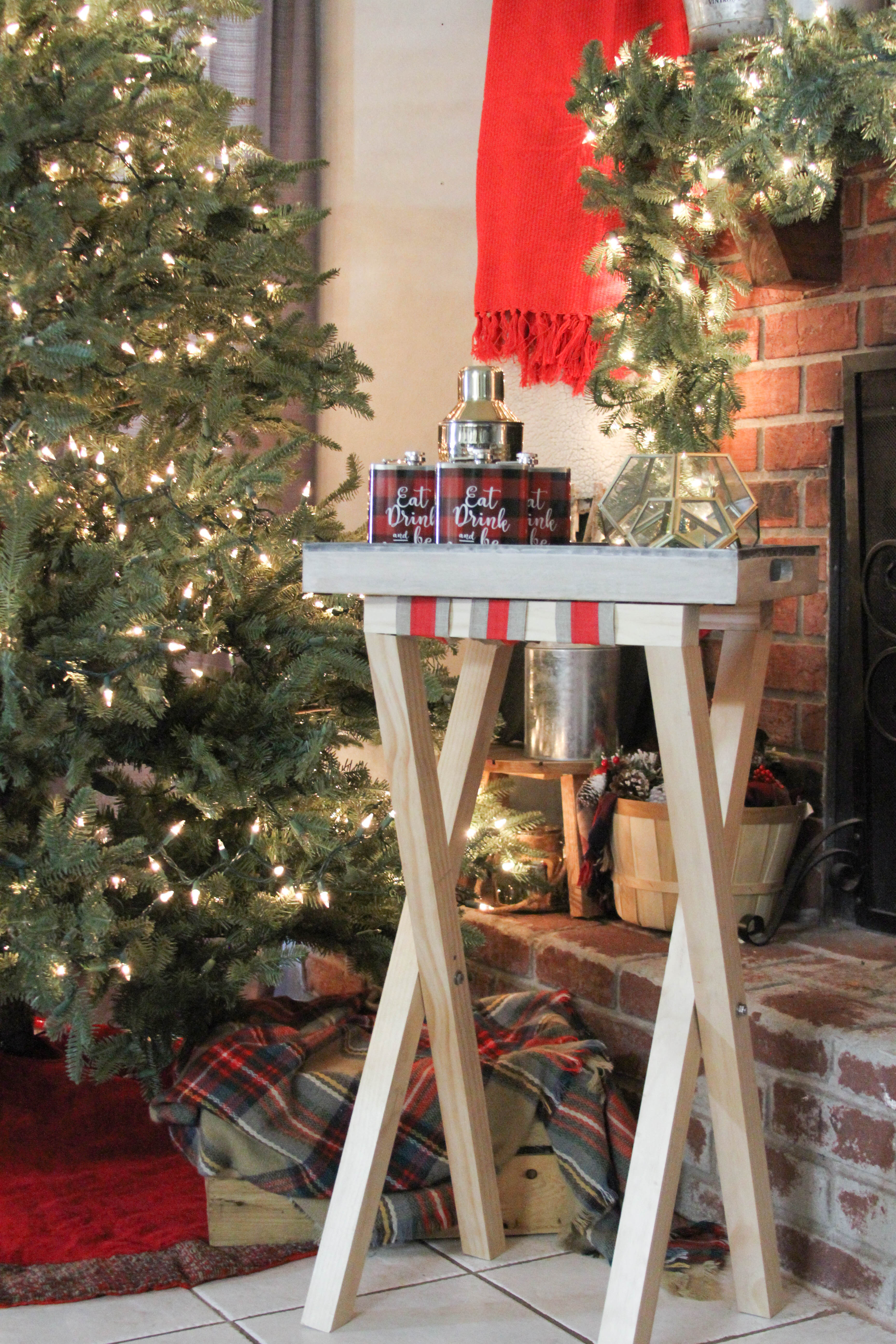 Everyday Party Magazine DIY Bar Cart Table