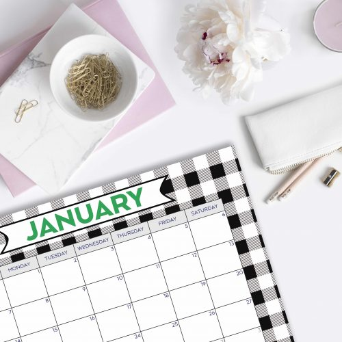 Everyday Party Magazine Free Printable Calendar 2018