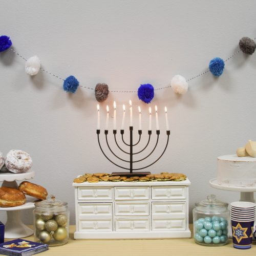 Everyday Party Magazine Hanukkah Celebration