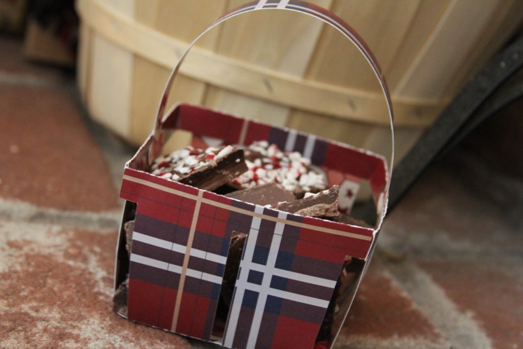 Holiday Gift Basket DIY