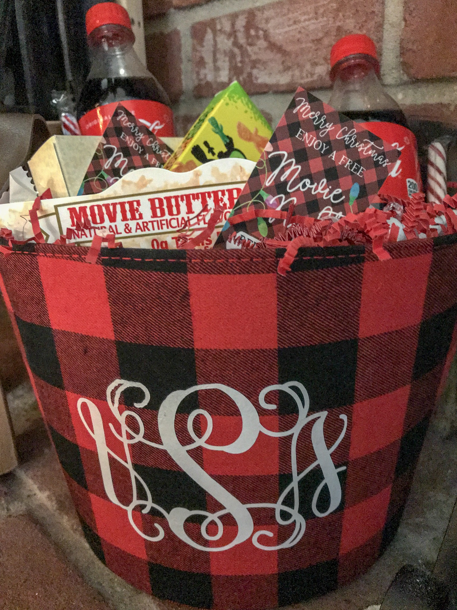 Everyday Party Magazine Movie Night Gift Basket