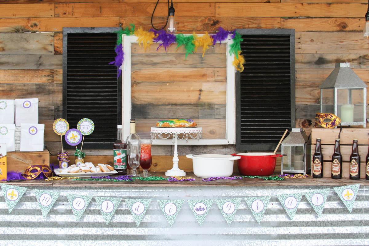 Everyday Party Magazine Mardi Gras Celebration
