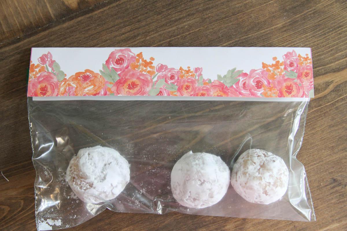 Easter treat bag topper printable