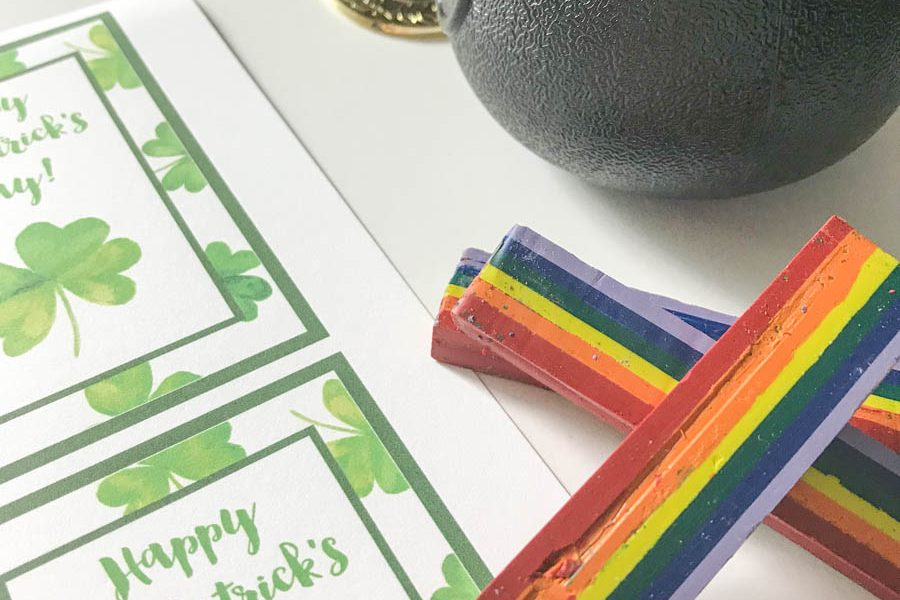 Everyday Party Magazine Happy St. Patrick's Day Printable Tag #StPatricksDay #Rainbow #StPats