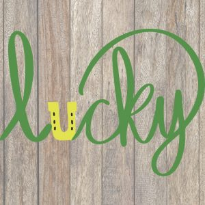 Lucky SVG Image