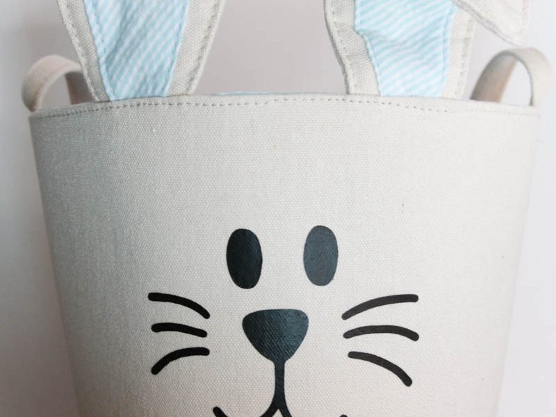 Everyday Party Magazine Easter Bunny Face SVG #Easter #SVG #CricutMade #Bunny